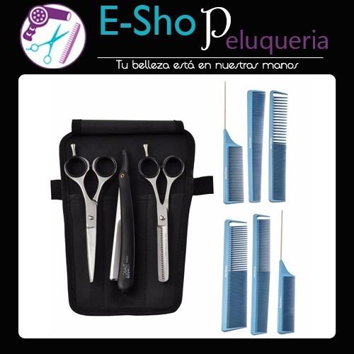 Kit Tijeras y Navajin Style.Cut + Kit Babyliss 6 Peines - E-Shop ... ea36d6b650de