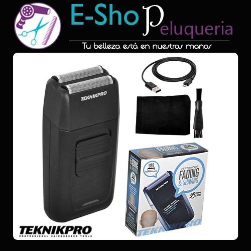 Maquina Para Afeitar y Rapar Fading   Shaving TeknikPro - E-Shop ... aacc95e35fb8