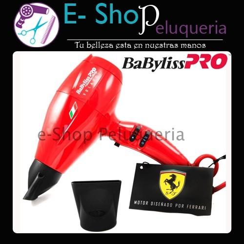 26b959d7c90 Secador de Pelo Profesional Babyliss Pro Volare V2 Compact con motor Ferrari