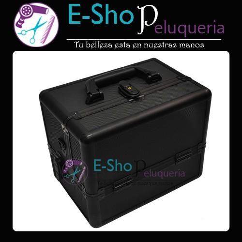 2e7d97b7c Maletin Profesional Aluminio Negro 1432 - E-Shop Peluqueria