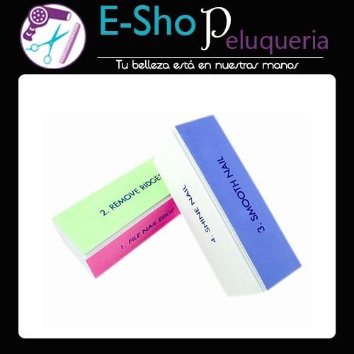 68917dfe4f314 Bloque Lima 4 Fases Brillo Uñas Esculpidas Nail Art - E-Shop Peluqueria