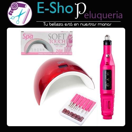 Cabina De Uñas Soft Touch Teknikpro Spa 24w Torno Drill E Shop Peluqueria